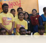 CAMPAIGN AGAINST CHILD LABOUR AND TRAFFICKING